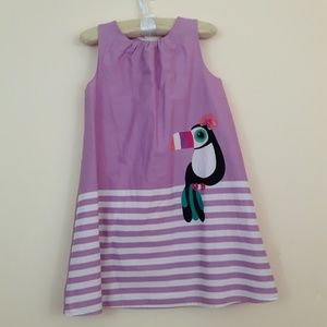 Gymboree Jungle Brights Toucan Dress Size 5T NWT